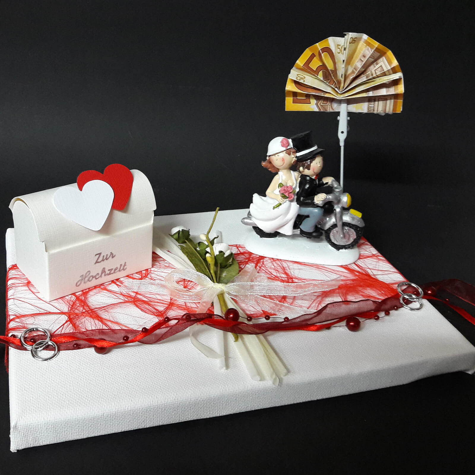 Geldgeschenk Zur Hochzeit Motorrad