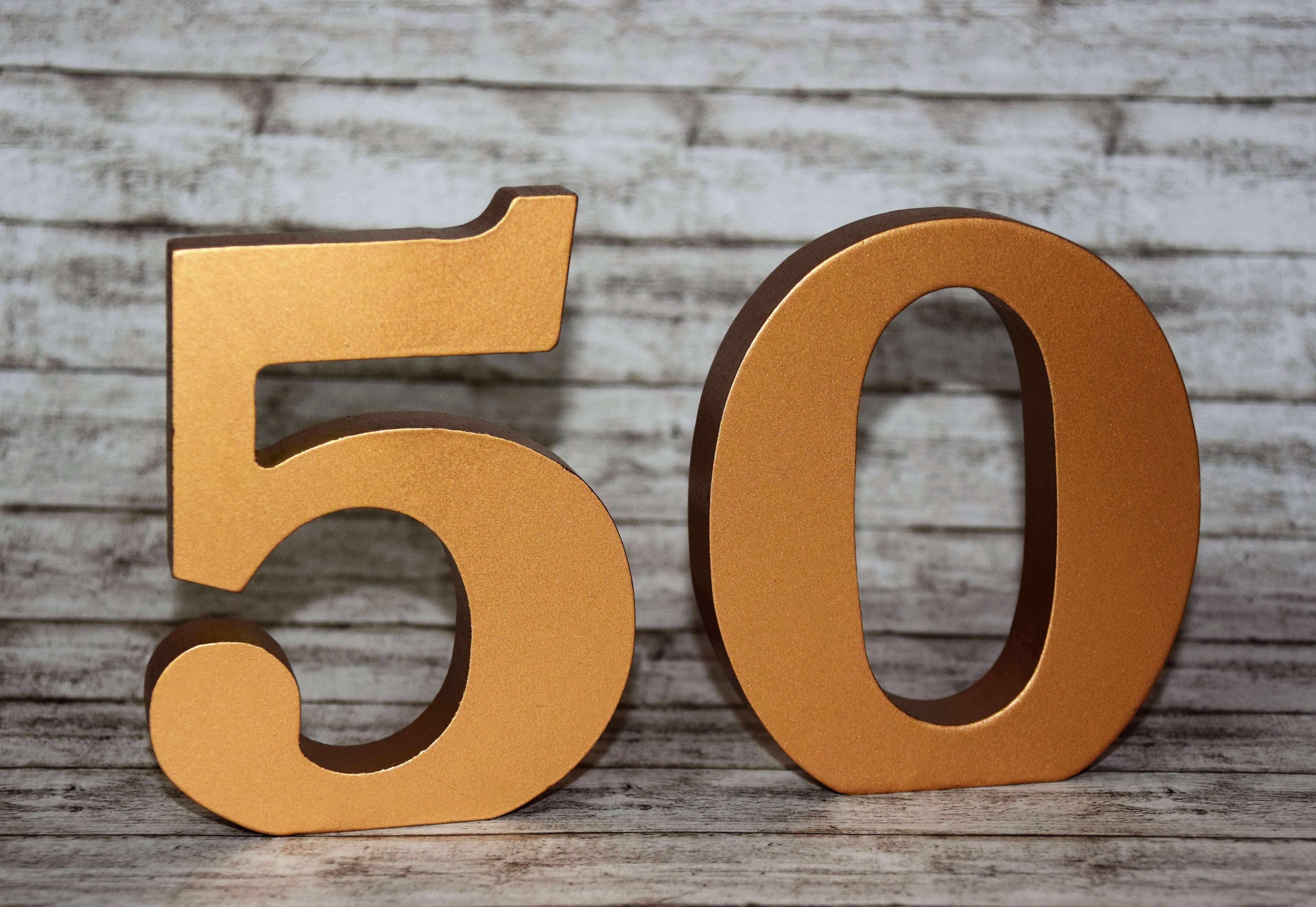 Tischdeko Zur Goldenen Hochzeit 50