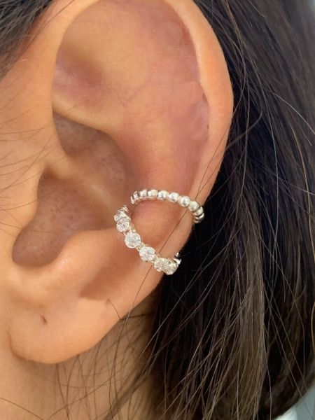 2er Set Ear Cuff Kate & Claire 925 silber